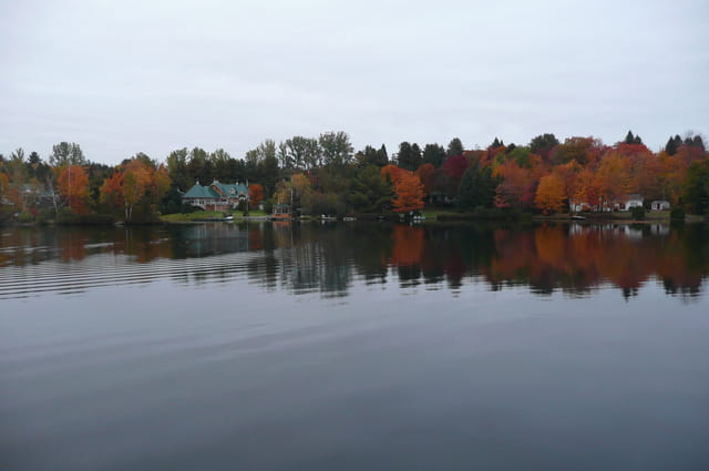 L'automne au Lac Rocher