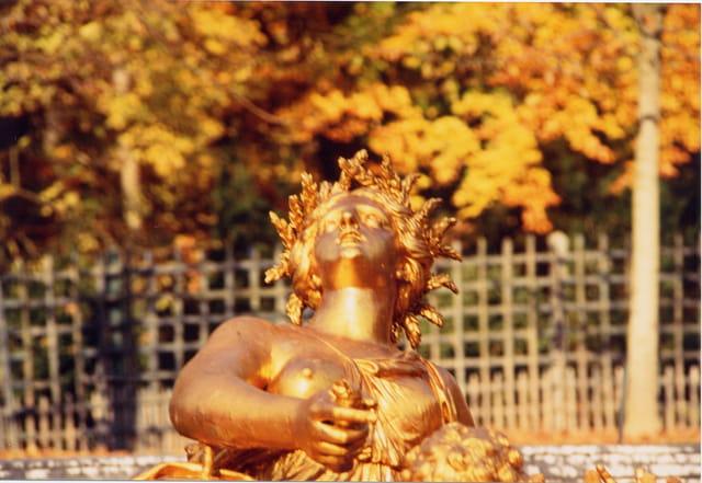 L'automne au parc de Versailles