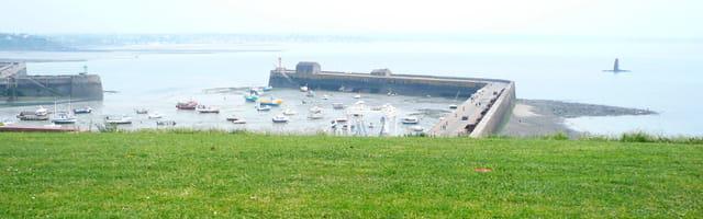 L'avant port à mi-marée