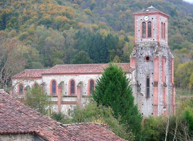 L'église d'Arbas