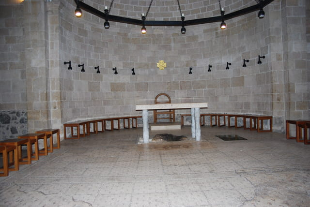 l'église de la multiplication des pains de Tabgha