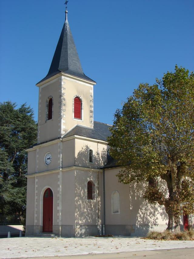 L'église de Saint-Aignan