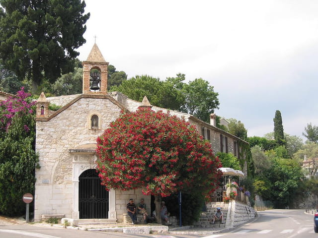 L'église de st.paul de vence