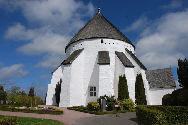 l'église ronde d'Osterlars