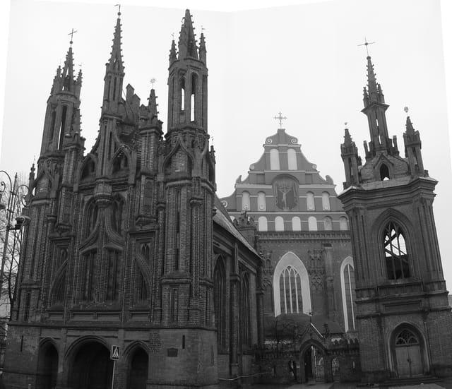 L'église Saint Anne - Vilinus
