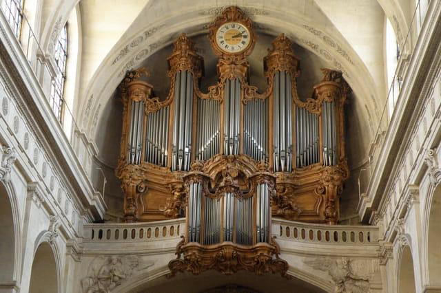 L'église Saint-Roch : le grand orgue