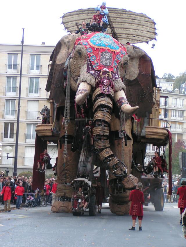 L'élephant de la Troupe Royal de Luxe