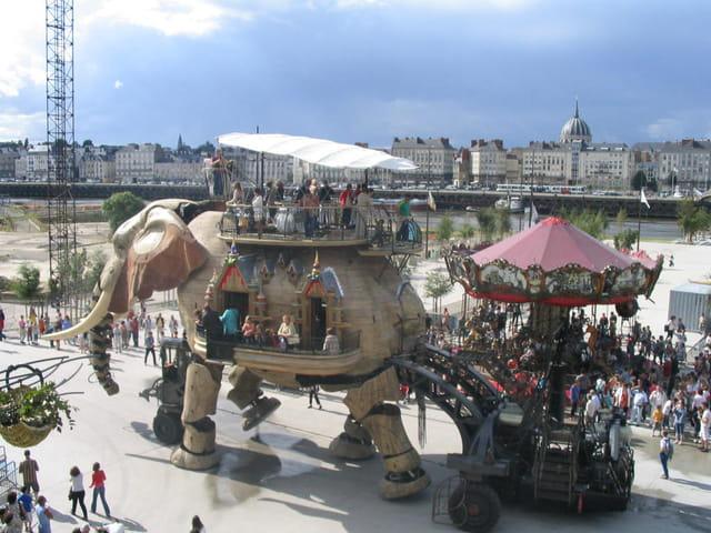 L'Eléphant vu par Jules verne