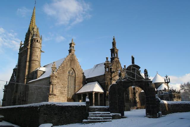 L'enclos sous la neige