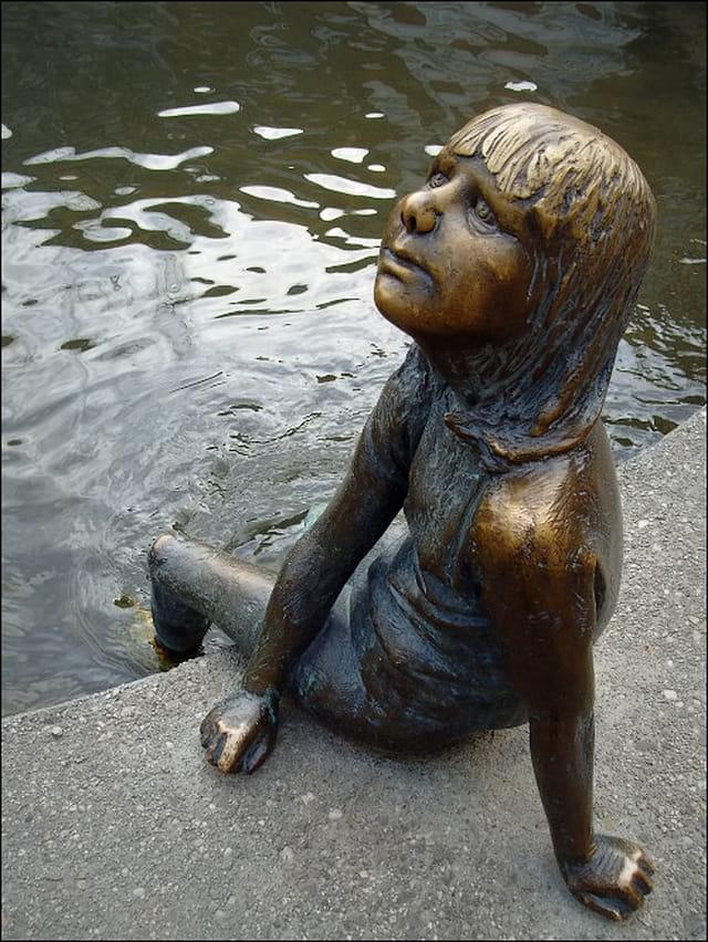 L'enfant de la fontaine...