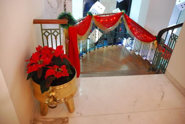 l'escalier de Noël