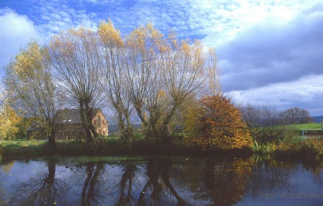 L'étang de Hansez.