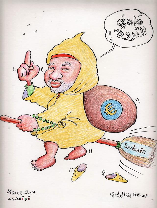 En France il y a la cour des comptes, au Maroc c'est les comptes qui courent