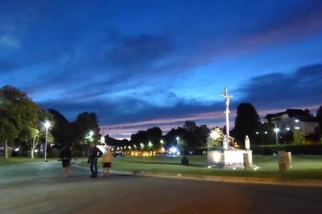 L'heure bleue à Lourdes