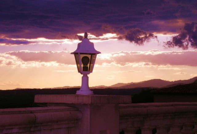 L'heure d'allumé la lanterne