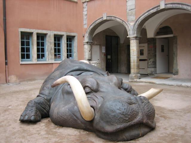 L'hippopotame musée de la miniature