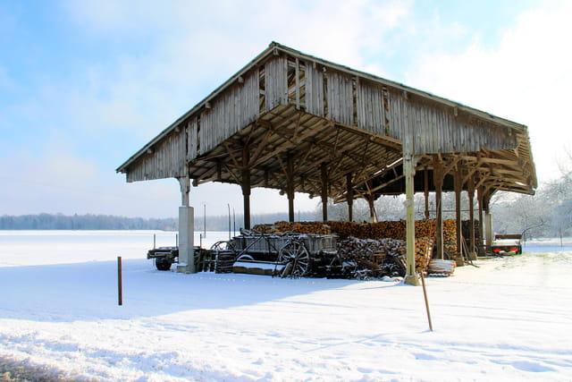 L'hiver dans la campagne