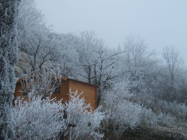 L'hiver en auvergne