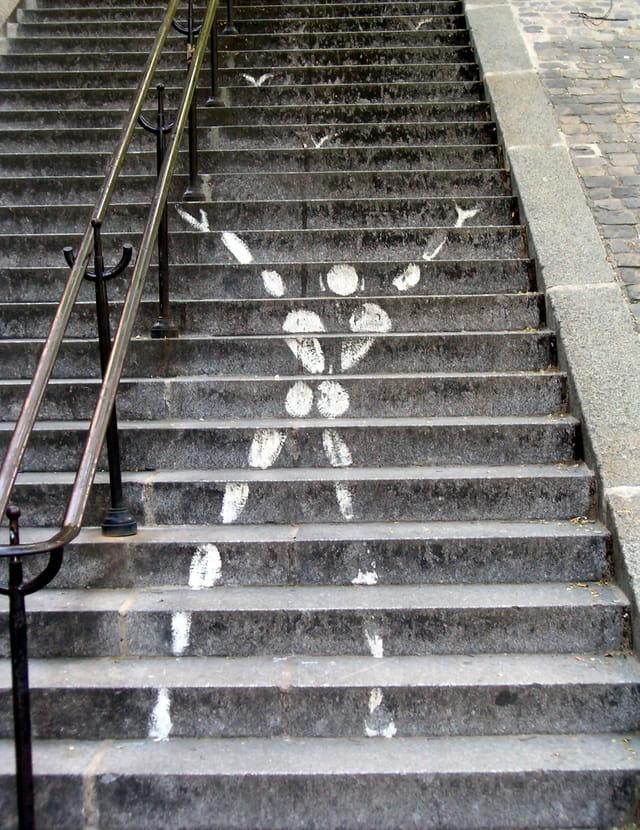 L'homme escalier