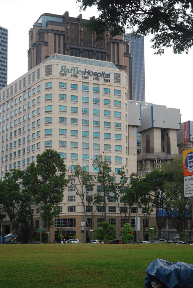 l'hôpital Raffles