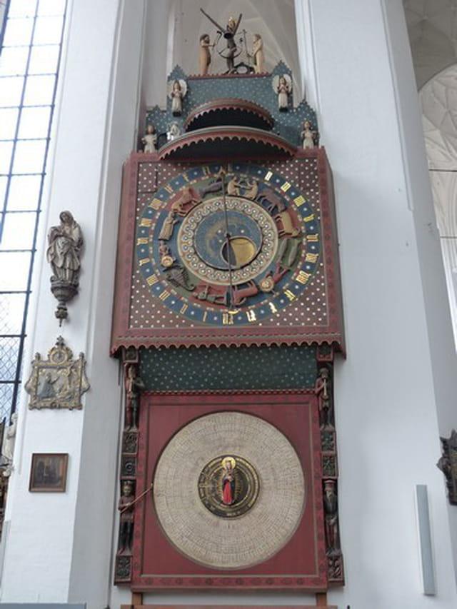 l'horloge astronomique du XV°siècle