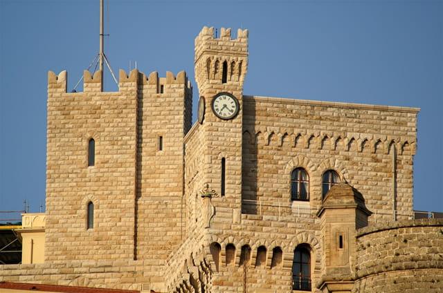 L'horloge du palais princier