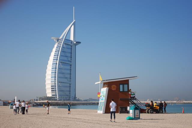 l'hôtel Burj el Arab