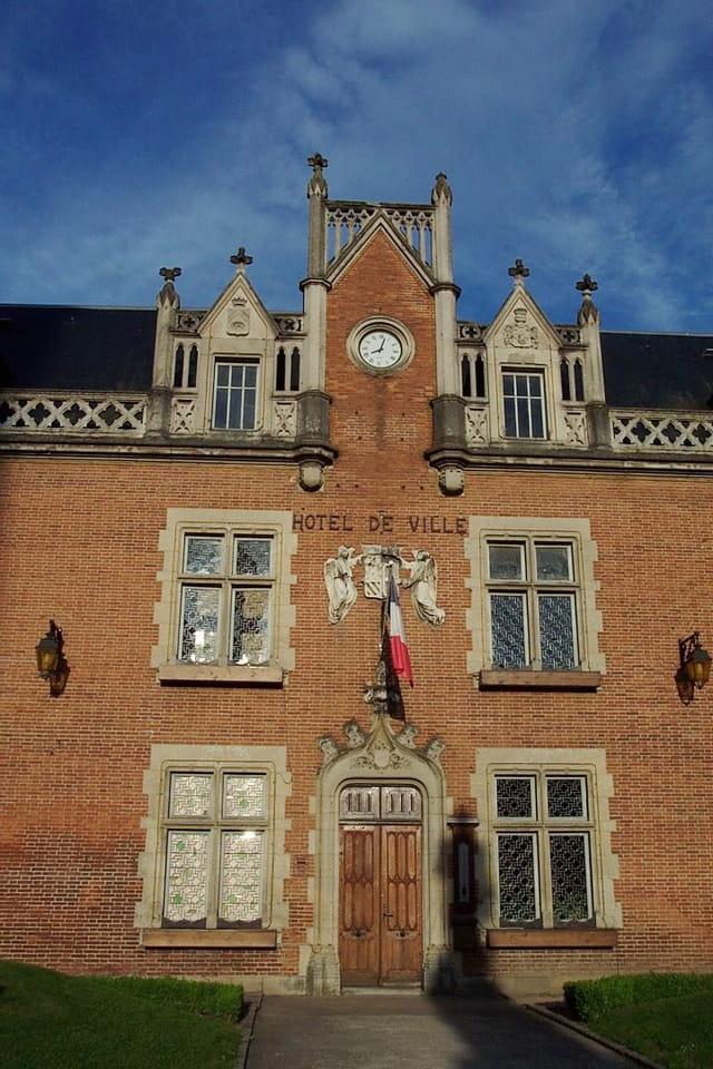 L'hôtel de ville d'Auxonne