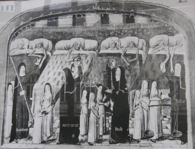L'Hôtel Dieu du Moyen-Age