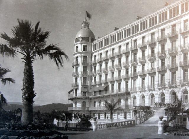 L'hôtel Regina Excelsior à Nice