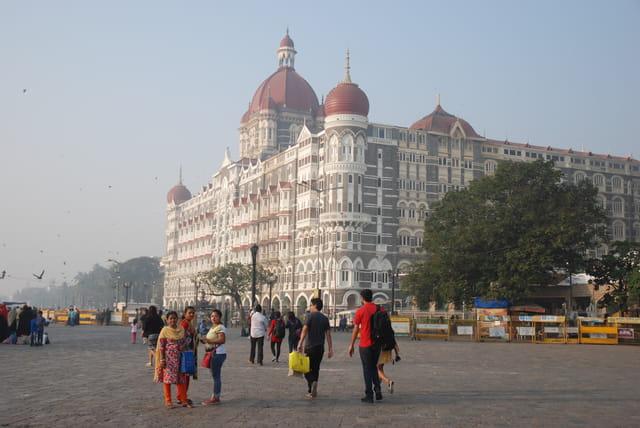 l'hôtel Taj Mahal de Bombay