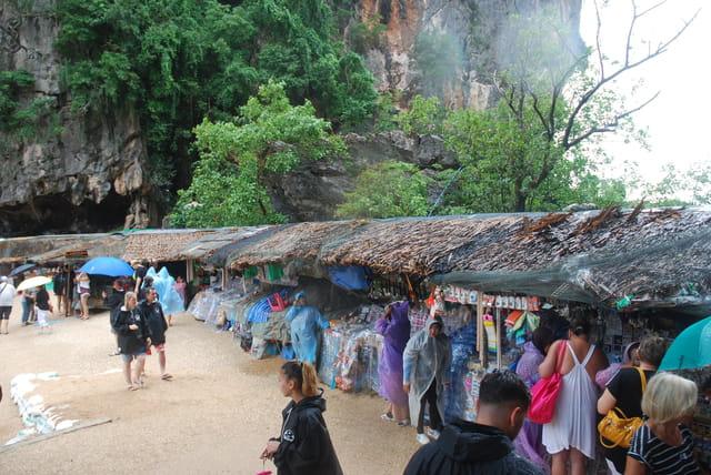 l'île Khao Ping Gun Nail sous la mousson