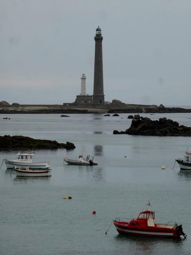 L'île vierge et son phare