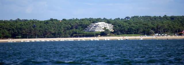 l'immeuble face au Bassin d'Arcachon