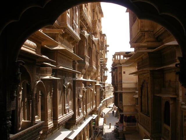 L'intérieur de la ville