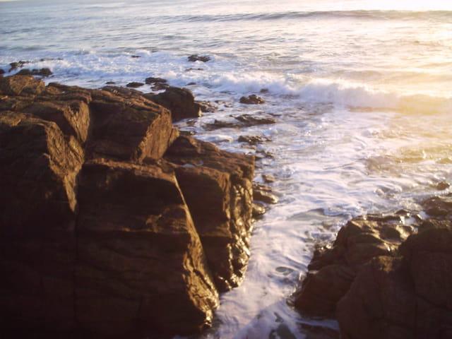 L'océan au couchant