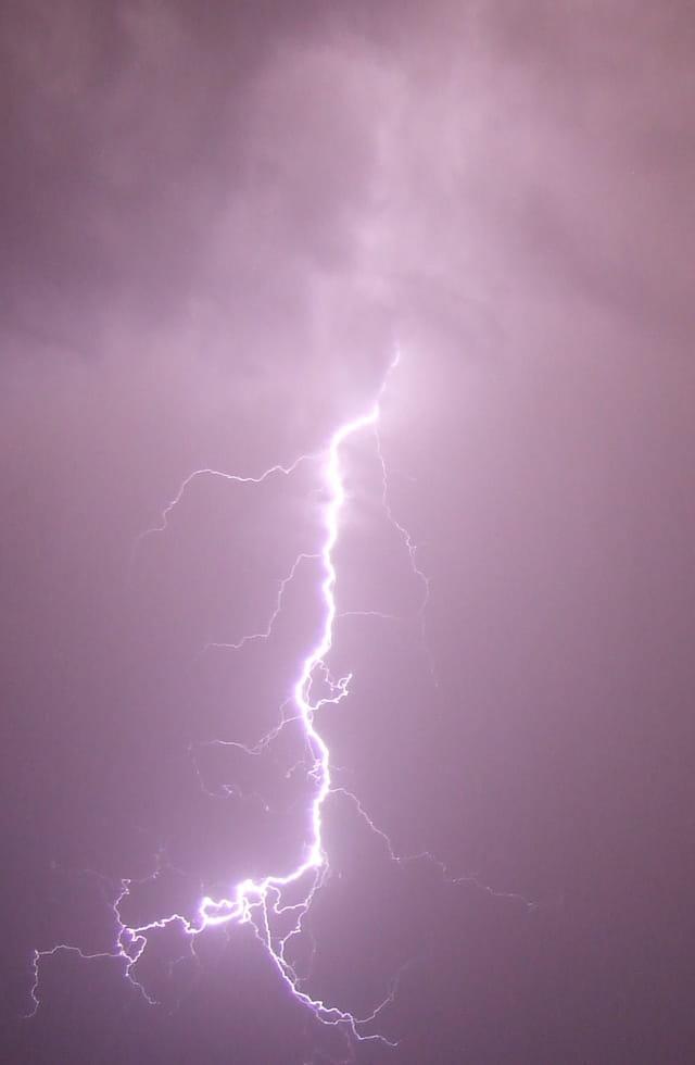 L'orage...