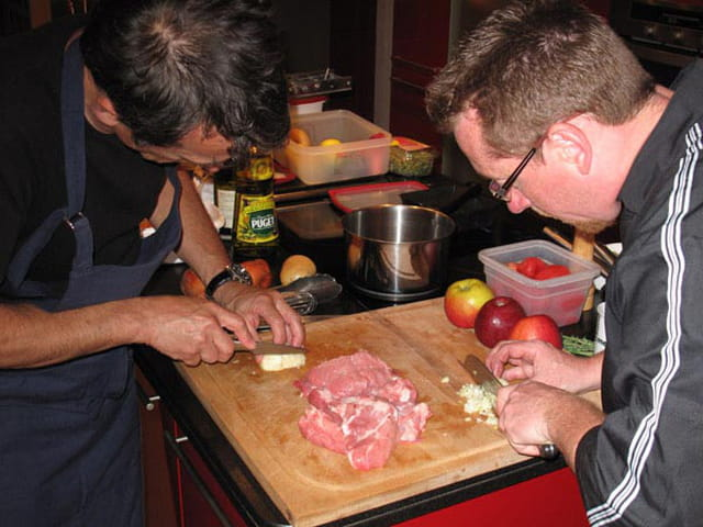 L'Orée de Giverny, cours de cuisine, cours d'oenologie, stages photos