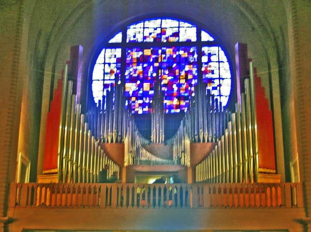 L'orgue de Sainte Jeanne d'arc