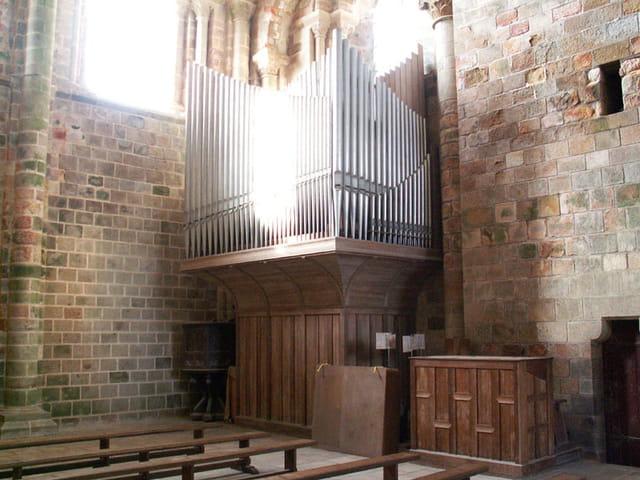 L'orgue du Mont Saint-Michel