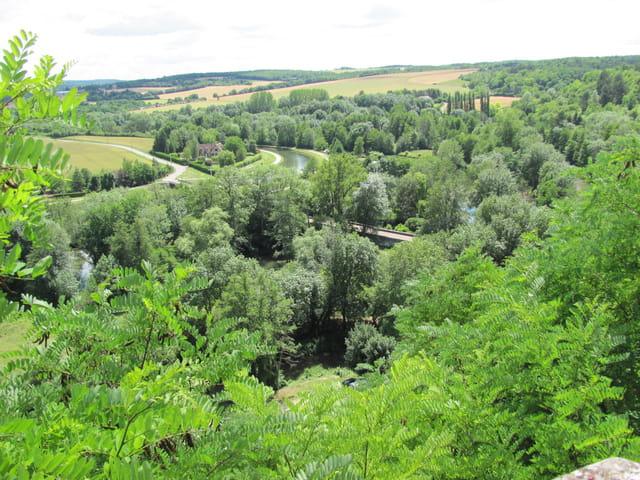 L'Yonne et le canal côte à côte