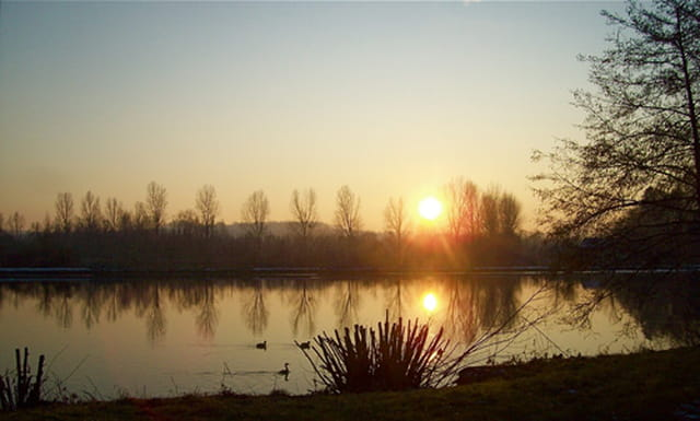 L'Yonne un soir d'hiver