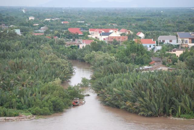 la banlieue de Ho Chi Minh Ville