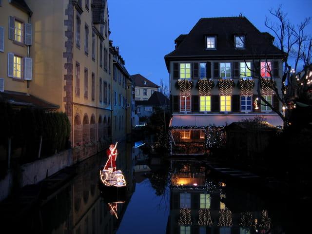 La barque du Pére -Noël
