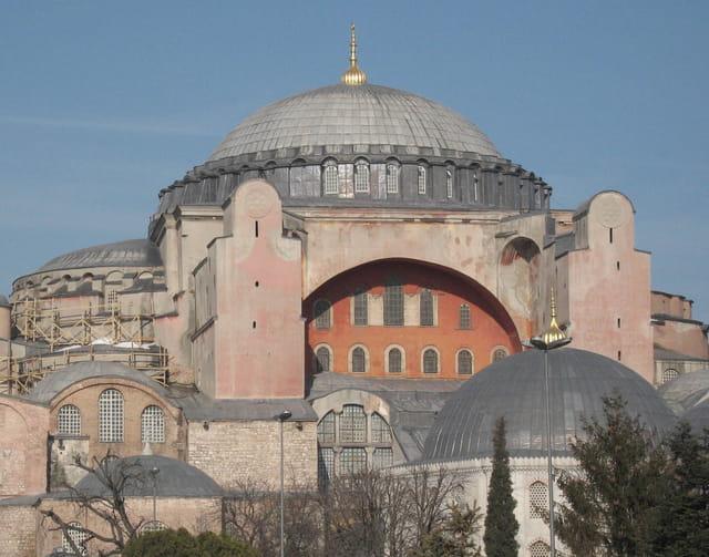 La basilique Ste Sophie au temps de Justinien