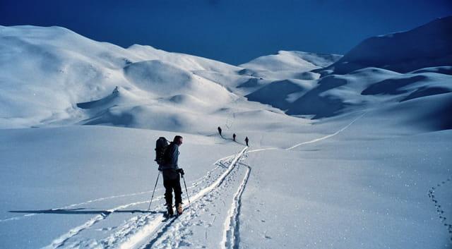 La beauté du ski rando