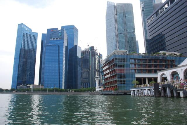 la belle architecture de Singapour