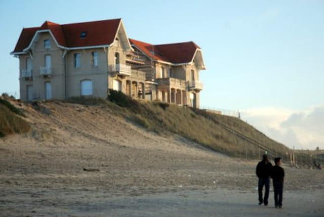 la belle maison du front d'Océan