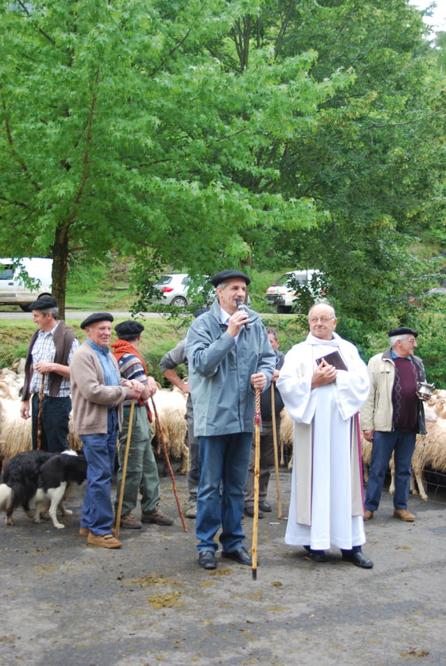 La bénédiction des troupeaux