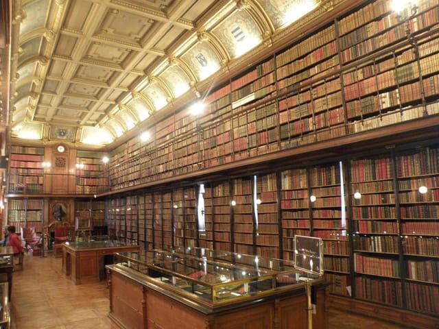 La bibliothèque du Duc d'Aumale
